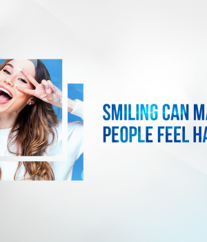 Smiling can make us happier, according to researchers