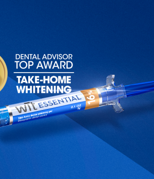 "Wīt Essential receives ""2020 Top Award Winner"" by Dental Advisor"